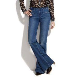 Alexa Chung for Madewell flare jeans
